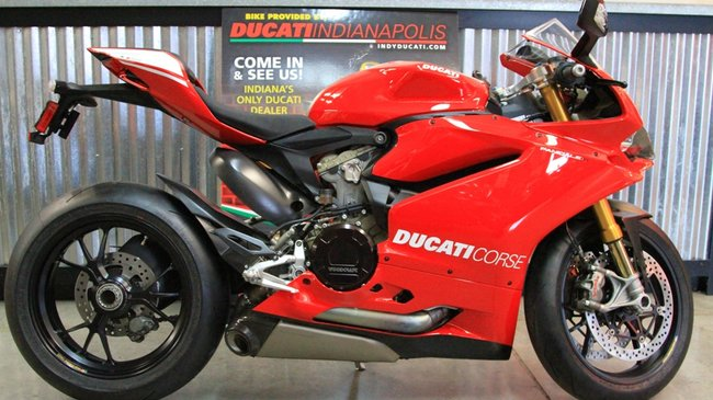 Used panigale r